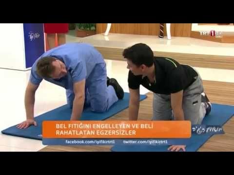 Bel Fıtığı Egzersizleri - Bel Fıtığına iyi Gelen Bel Fıtığı Ağrısını Tedavi Eden Egzersizler ! - YouTube