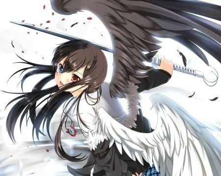 anime girl wings - photo #14