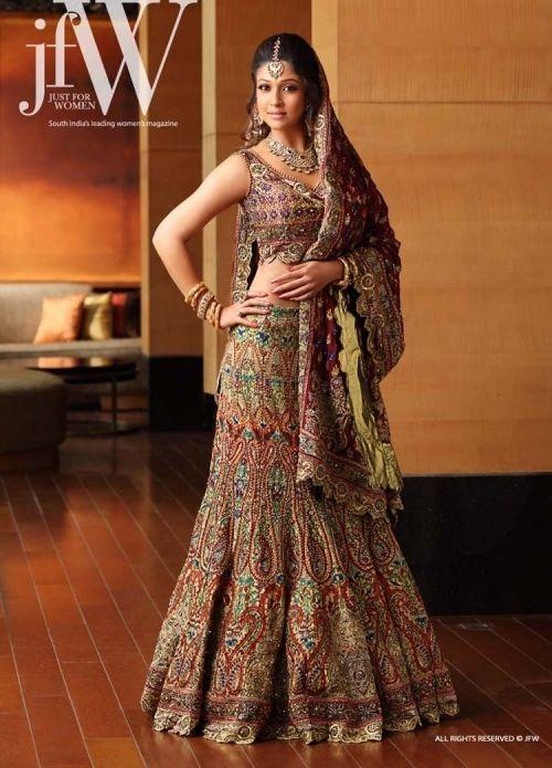 Celebrity Bridal Fashion Inspiration - Nayanthara 01