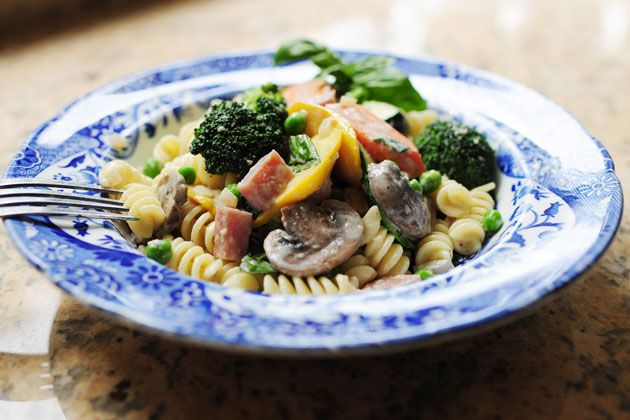 Pasta Primavera by Ree Drummond - Now through May 31, the Land O'Lakes Foundation will donate $1 to Feeding America® for every pin or repin from the TODAY food board.