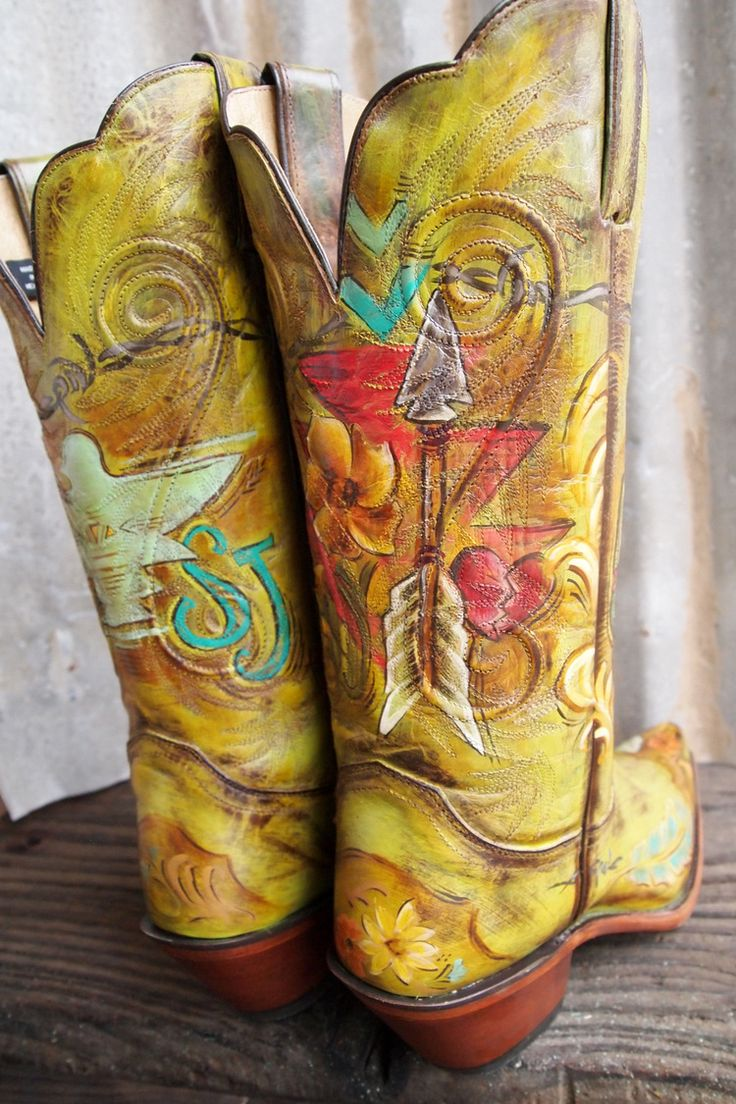 26 Best Images About Hand Painted And Embelished Cowboy