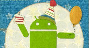 Android wurde gestern 5 Jahre alt – Herzlichen Glückwunsch nachträglich!