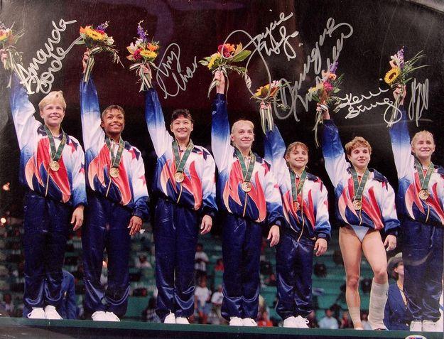 The 1996 US Gymnastics Team