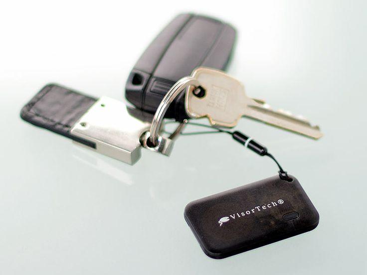 VisorTech Mobiler Bluetooth-Alarm für Smartphones mit Bluetooth 4.0