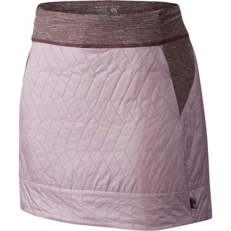 Mountain Hardwear - Trekkin Insulated Mini Skirt - Women's - Dusty Orchid