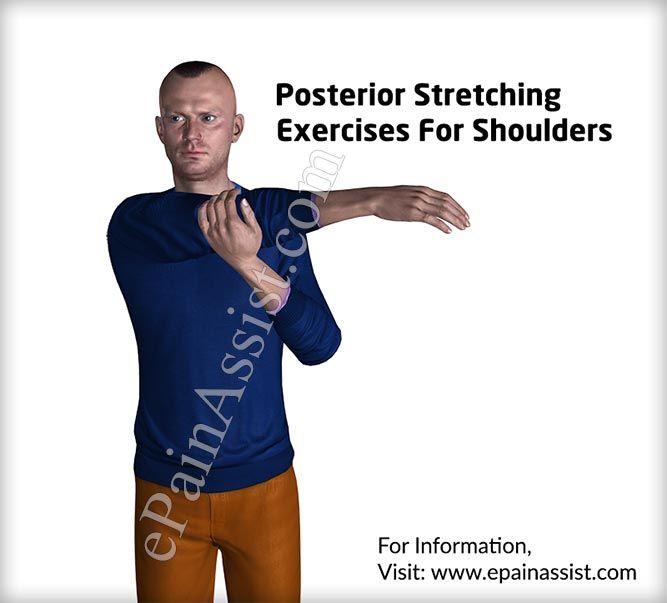 Exercices d'étirement postérieur pour les épaules
