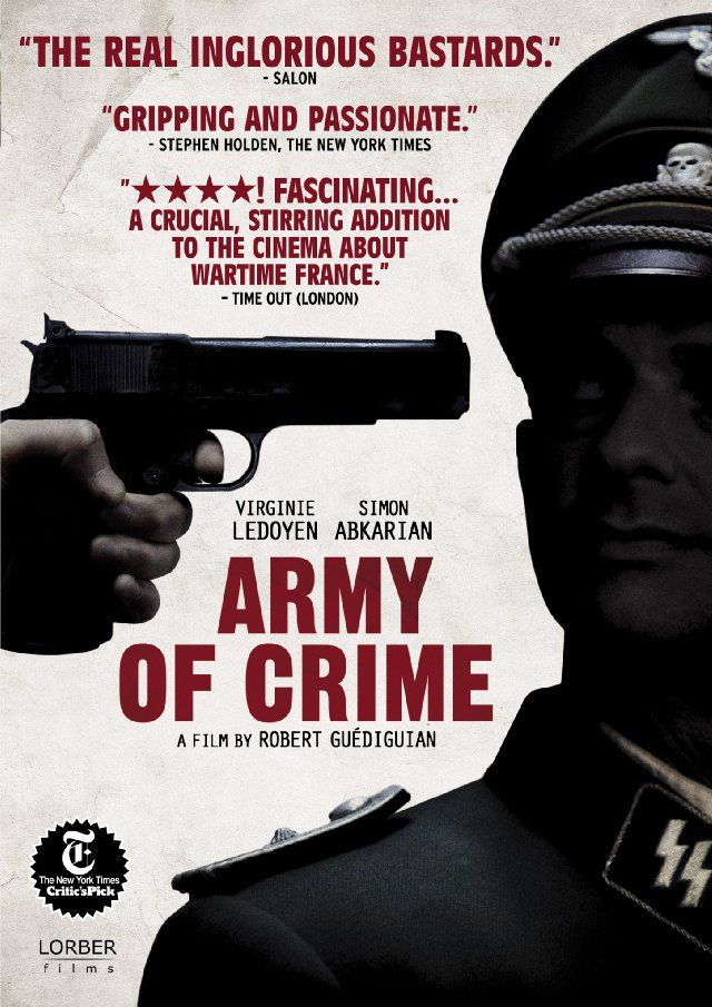 Suc Ordusu - The Army of Crime - 2009 - BRRip Film Afis Movie Poster