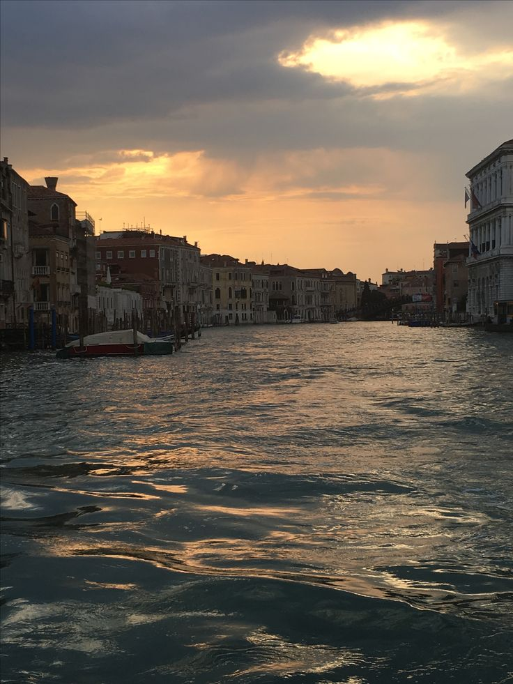 Sunset Grand Canal