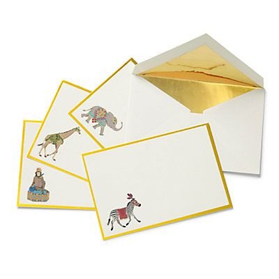 Love this Bazaar Animal Notecards for $12 on C. Wonder