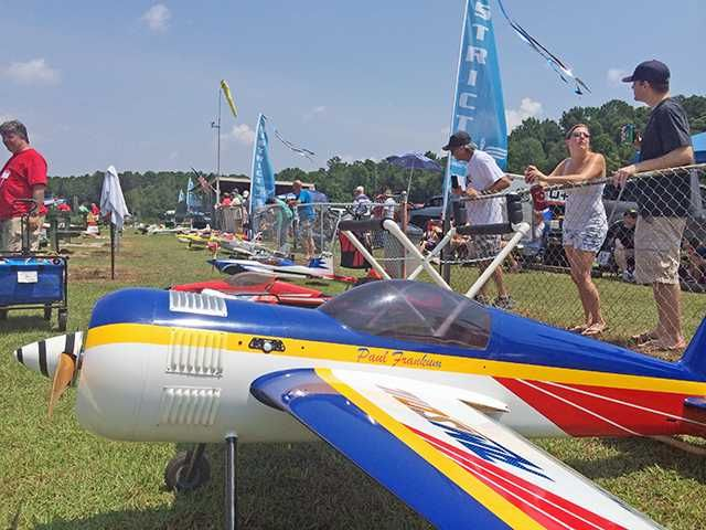 RC planes fly for Wounded Warriors #nmad