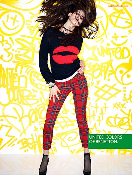 United Colors of Benetton Fall/Winter 2013-2014 Campaign  #punk #benetton