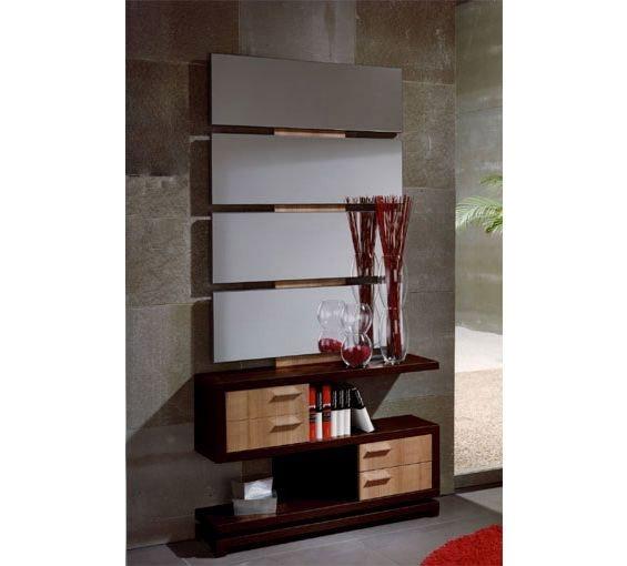 Mueble De Baño Xacobeo:de estilo modernoDisponible en la combinación wengué y xacobeo