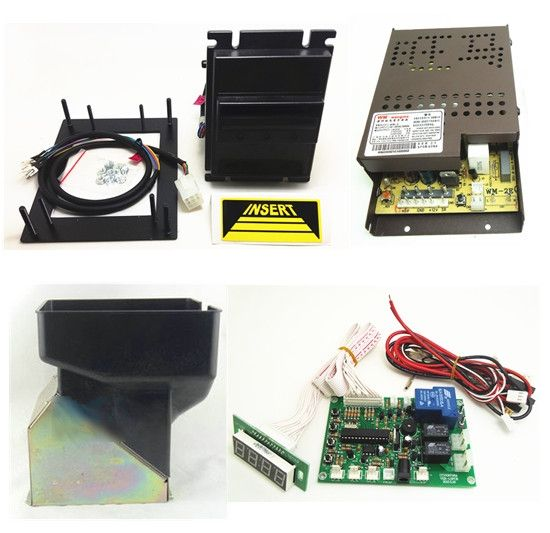 150.00$  Buy now - http://alinn2.worldwells.pw/go.php?t=32433244194 - 1 kit for Malayia/United States/Russian currency multi banknotes bill acceptor with board 24V hopper for coin changer machine 150.00$