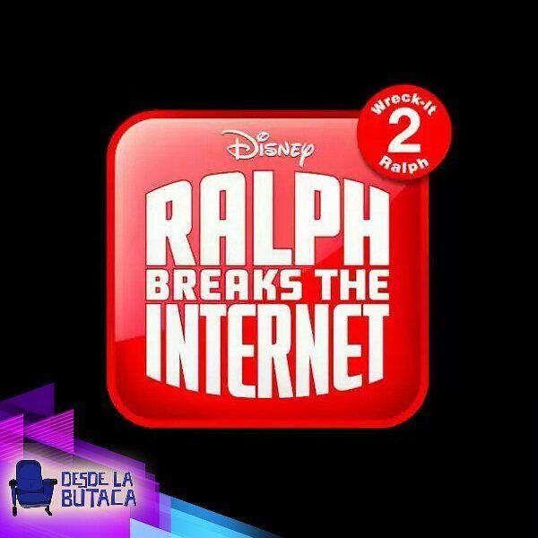 Ralph el demoledor llegará al internet! Este es el logo oficial presentado por #Disney para #RalphElDemoledor2 Creen que el internet pueda con este destructivo amigo?