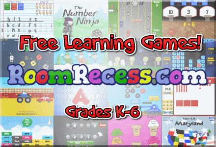 Free learning games! RoomRecess.com