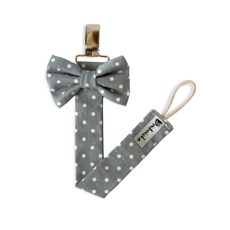 Bow tie pacifier clip                                                                                                                                                      More
