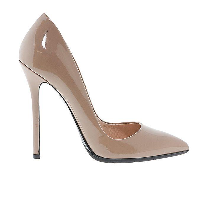 1203A00-NUDE PATENT #nudes #pumps #nudepumps #heels www.mourtzi.com