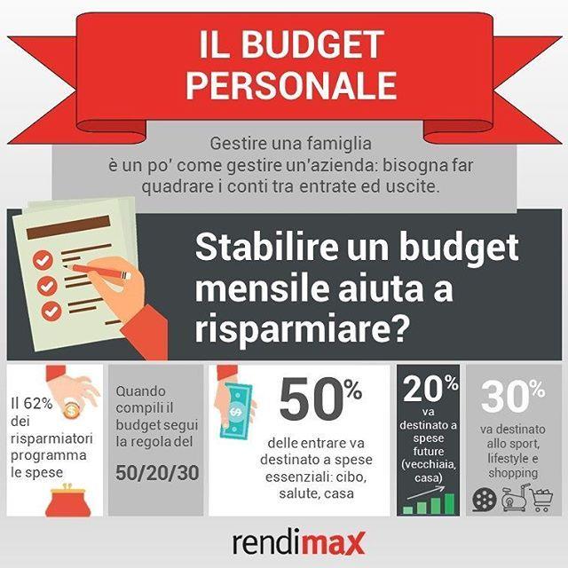 Saper gestire il bilancio personale o familiare è il primo passo per riuscire a