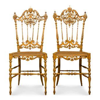 PopeLeoXIII Chiavari Chairs