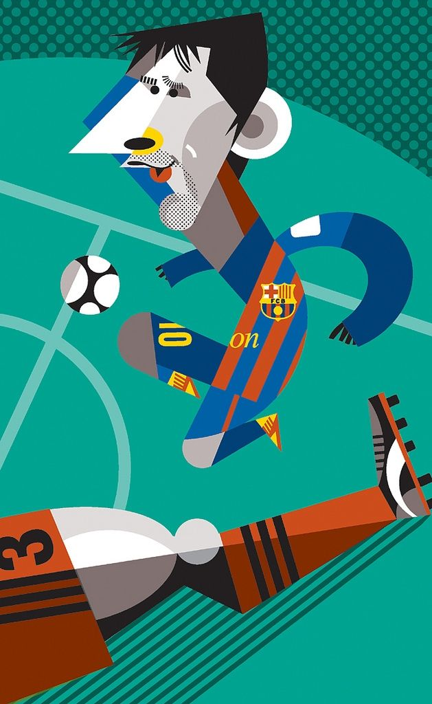 Lionel Messi by Pablo Lobato