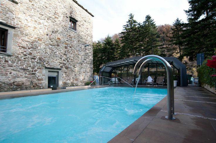Hotel delle Terme Santa Agnese Piscina esterna  #bagnodiromagna #terme