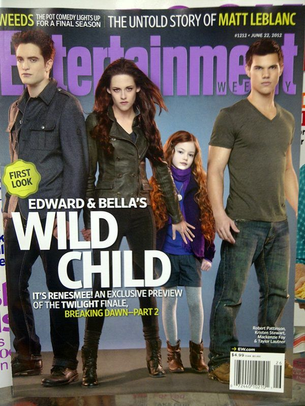 BD2: Breakingdawn, Movies, Entertainment Weekly, Ew Cover, Mackenzie Foy, Breaking Dawn, Twilight Saga, Wild Child