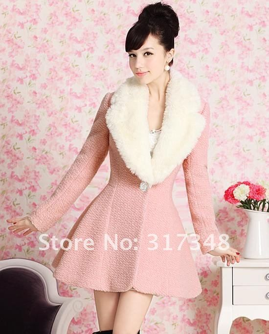 Collection Pink Winter Coat Pictures - Reikian