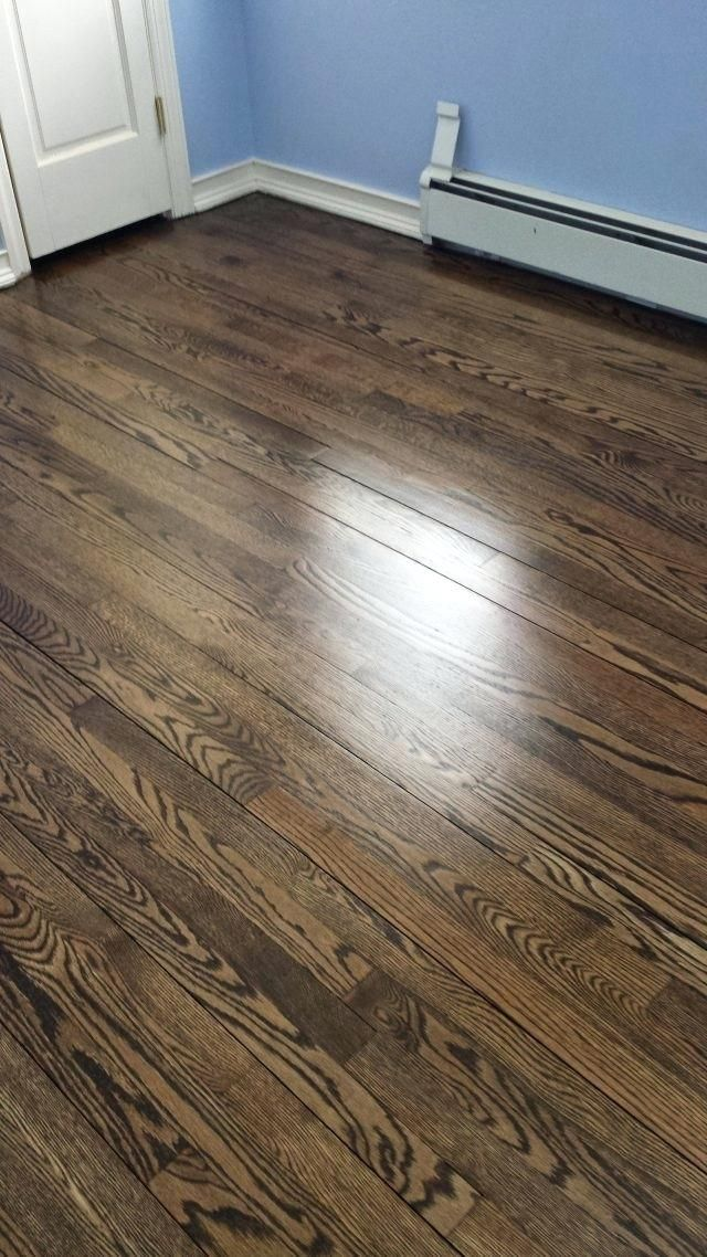 Jacobean Floor Stain Stain On Red Oak