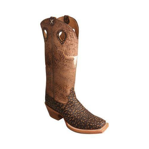 Men's Twisted X Boots MBKL014 Buckaroo Cowboy Boot Roca