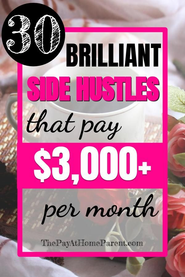 30 Side Hustles That Will Make You Money on the Side – Side Hustles