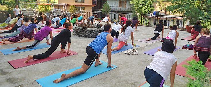 Yoga Teacher Training Asana Class