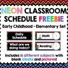 Want to display your daily schedule so students know exactly when and what is happening? Look no further with this awesome FREEBIE!  Includes 16 di...