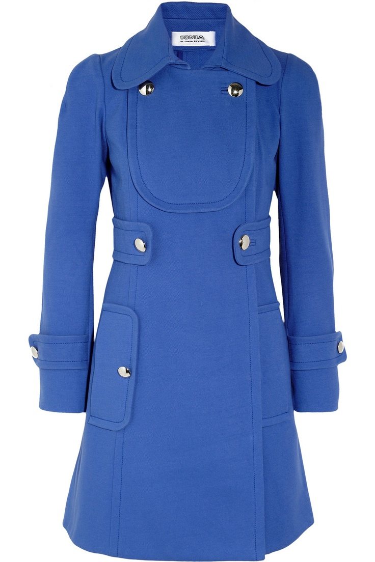 SONIA BY SONIA RYKIEL  Stretch-cotton twill coat  $610