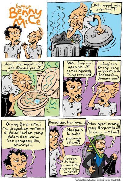 Benny & Mice: Edisi: IBA (Indonesia Berprestasi Awards) 2008 Mice Mencari Orang Indonesia Berprestasi