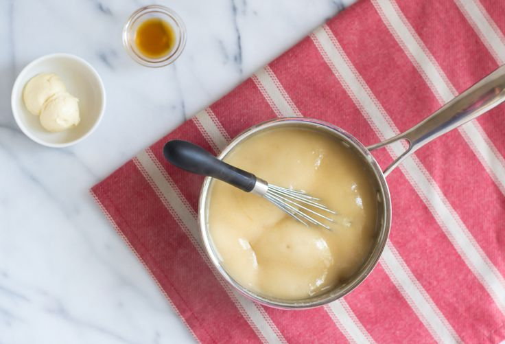 Vegan Caramel Sauce made with Soymilk and Maple Syrup