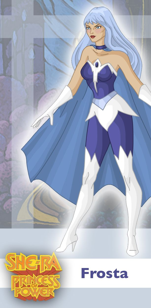 Princess of Power: Frosta by ~davidgozu on deviantART