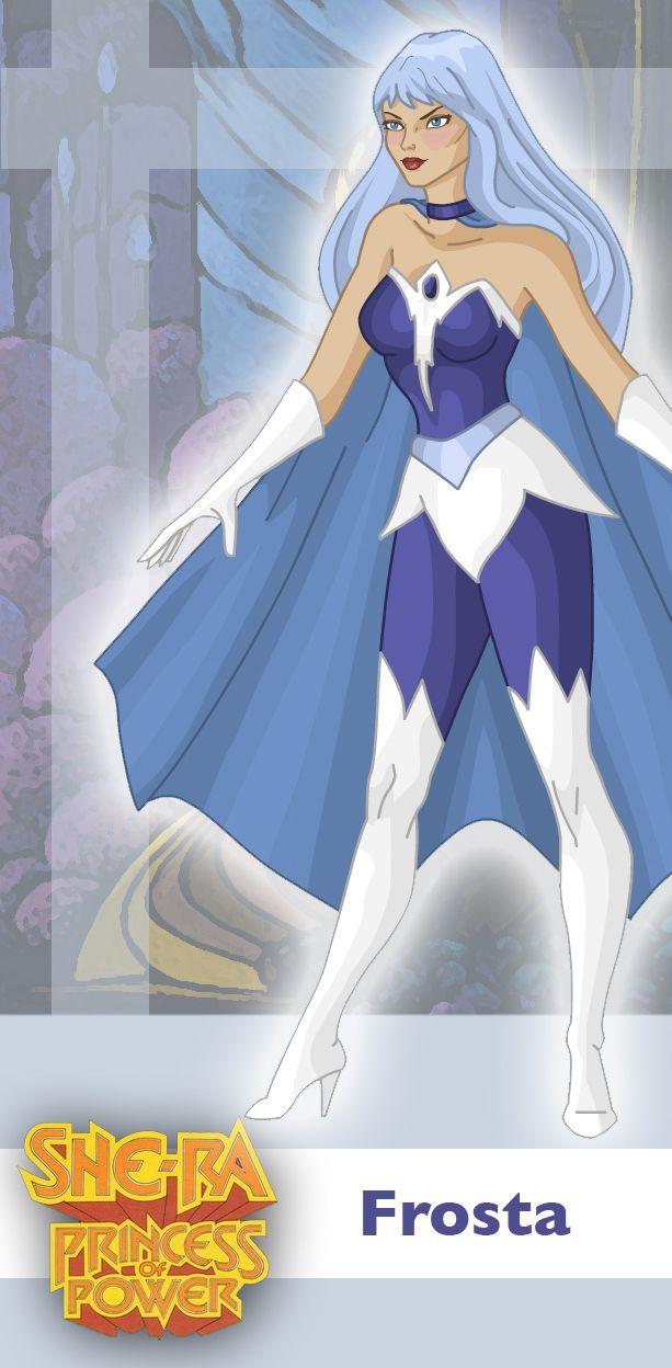 Princess of Power: Frosta by ~davidgozu on deviantART