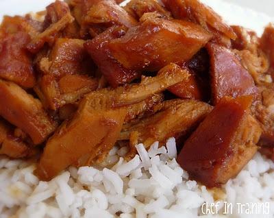 Honey Sauced Crockpot Chicken