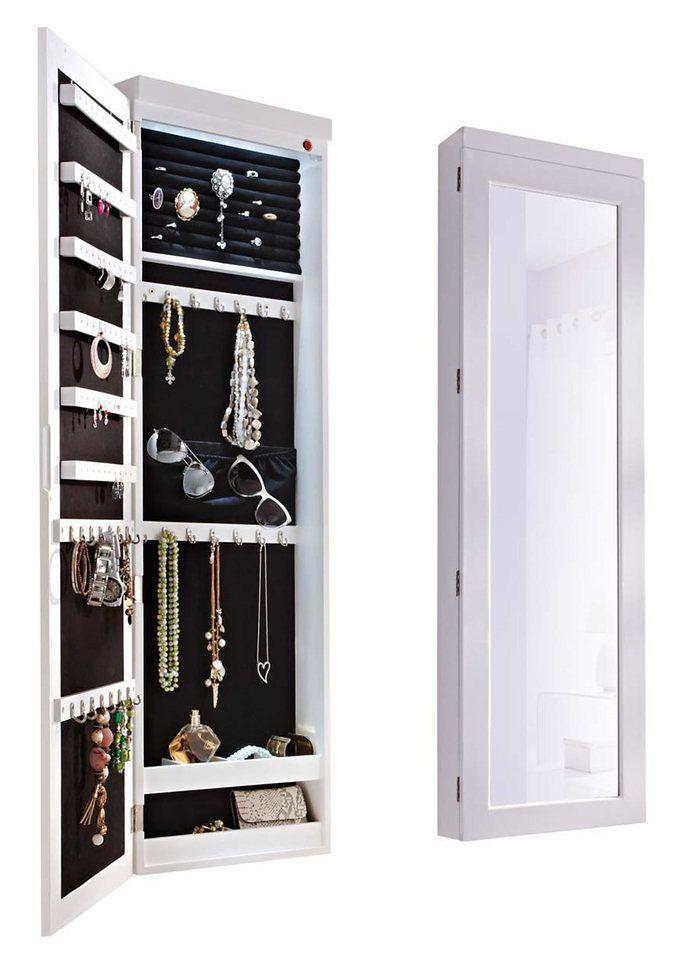 die besten 25 schmuckschrank mit spiegel ideen auf pinterest spiegel schmuckschrank diy. Black Bedroom Furniture Sets. Home Design Ideas