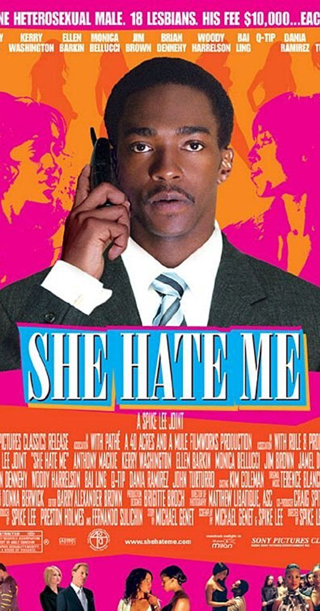 Directed by Spike Lee.  With Anthony Mackie, Kerry Washington, Ellen Barkin, Monica Bellucci. Fired from his job for exposing corrupt business practices, a former biotech executive turns to impregnating wealthy lesbians for profit.