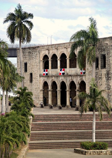 Grew up walking around here....Diego Colon's house; the almirante's son.  Santo Domingo, Dominican Republic