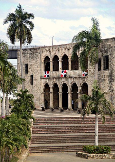 El Alcazar de Colón. Diego Colon's house; Christopher Columbus' son.  Santo Domingo, Dominican Republic