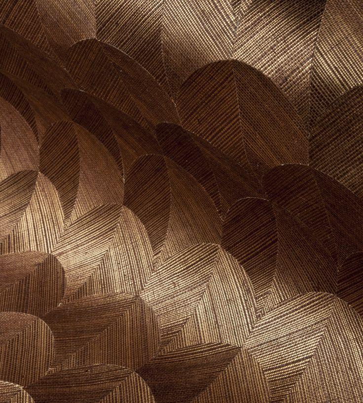 Design Classics   Metallics   Scale Wallpaper by Arte   Jane Clayton