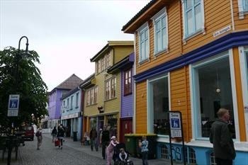 "Øvre Holmegate, Stavanger. Nicknamed ""The Colourful Street"" and have a bunch of nice cafées."