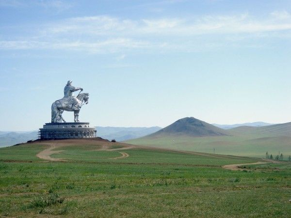 Statue Gengis Khan en Mongolie