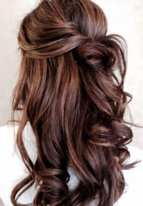 Brown Curly Hair Hair Pinterest Br 246 Llop H 229 R Och Frisyr