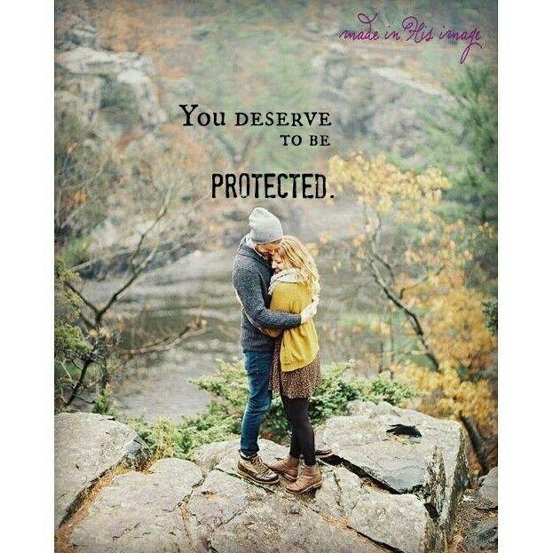 You deserve to be protected