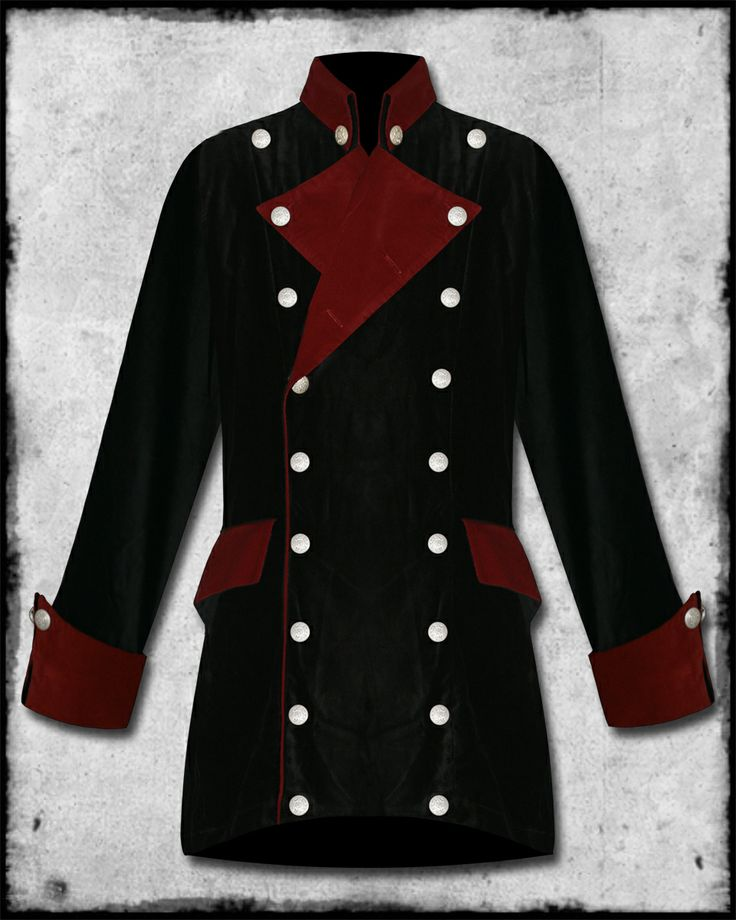 Red Coat Military Jacket | Down Coat