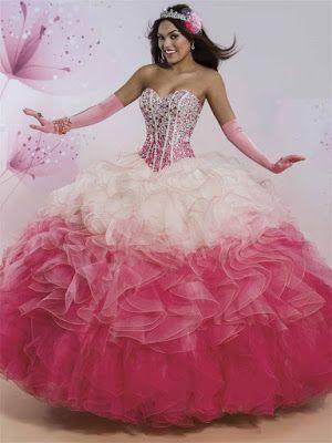 37a8b1b54e Imágenes de vestidos de 15 años ¡Bellos diseños con foto!
