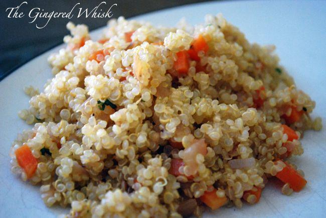 Quinoa Pilaf | Quinoa | Pinterest
